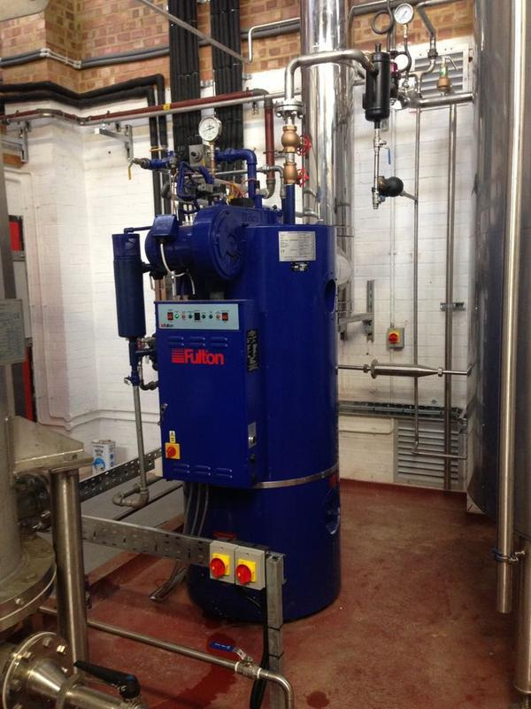 Image 26 - Steam Boiler Installation 1 of 2
