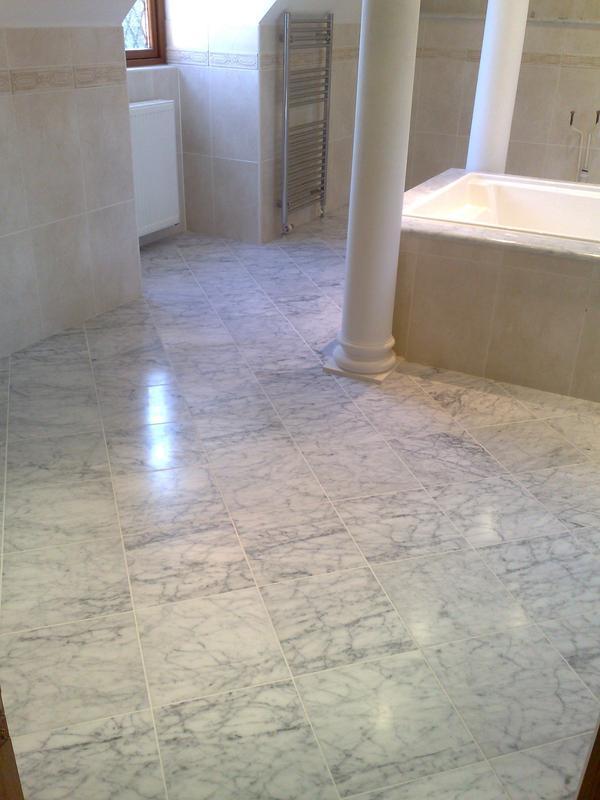 Image 22 - Carrara Marble Floor