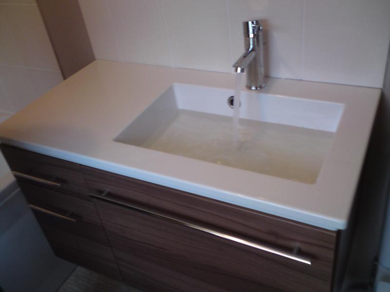 Image 57 - wall hung basin unit - Abington