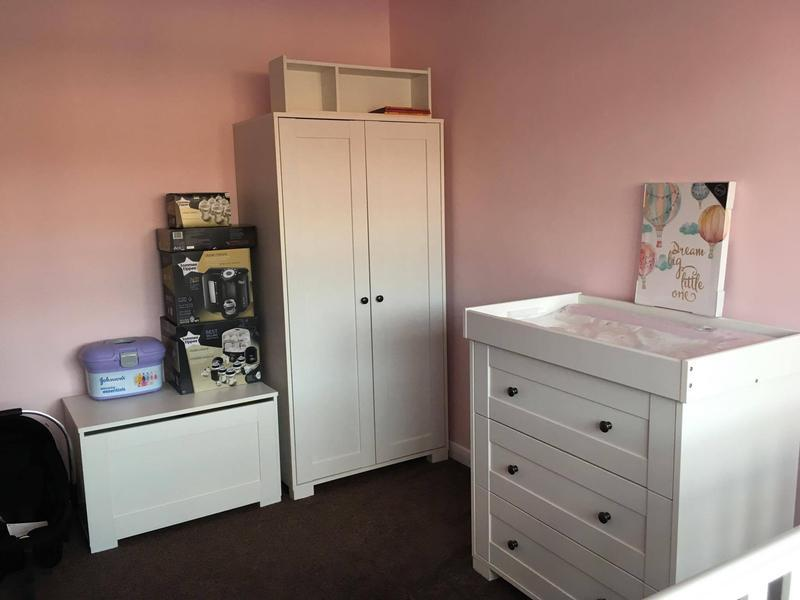 Image 64 - Pink Nursery repaint 2017