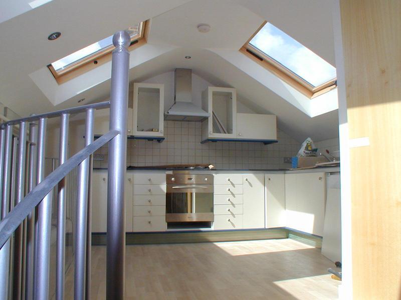 Image 5 - Loft conversion- kitchen