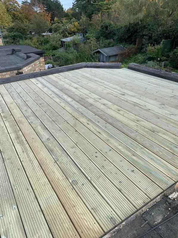 Image 19 - Roof decking renovation.
