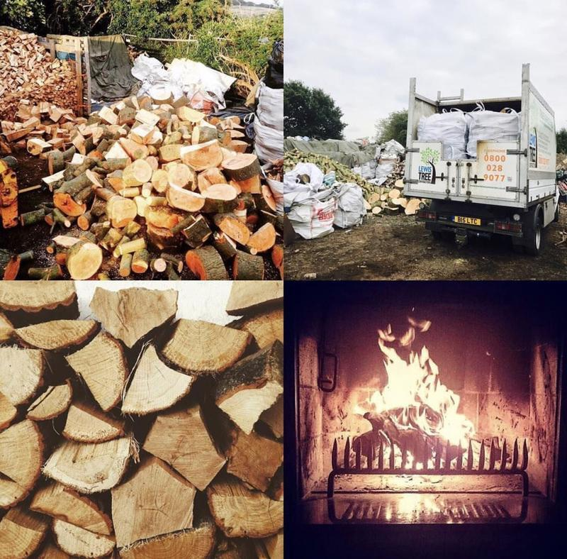 Image 27 - Suppliers of Split seasoned Hardwood logs.
