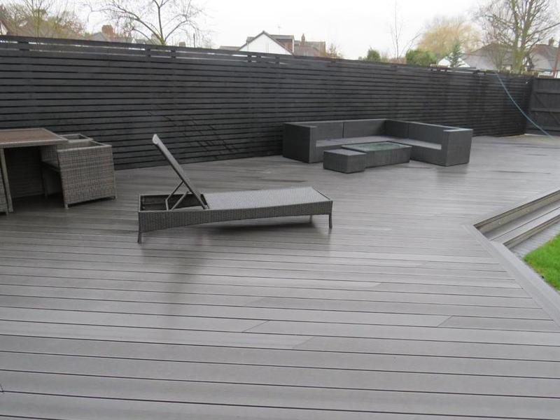 Image 22 - Composite decking,come in different colours.