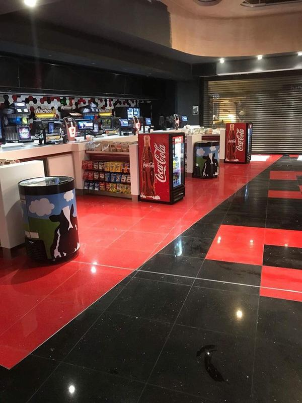 Image 17 - Large commercial tiling project for Cineworld. No job too big for our team.