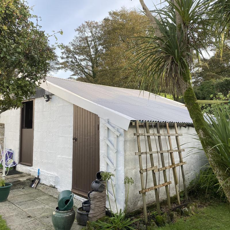 Image 2 - New Galvanise roof