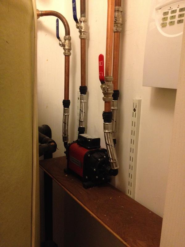 Image 47 - Shower pump install