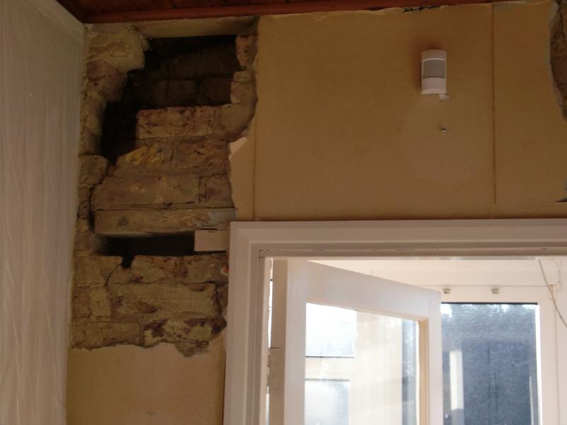 Image 2 - Internal crack repair