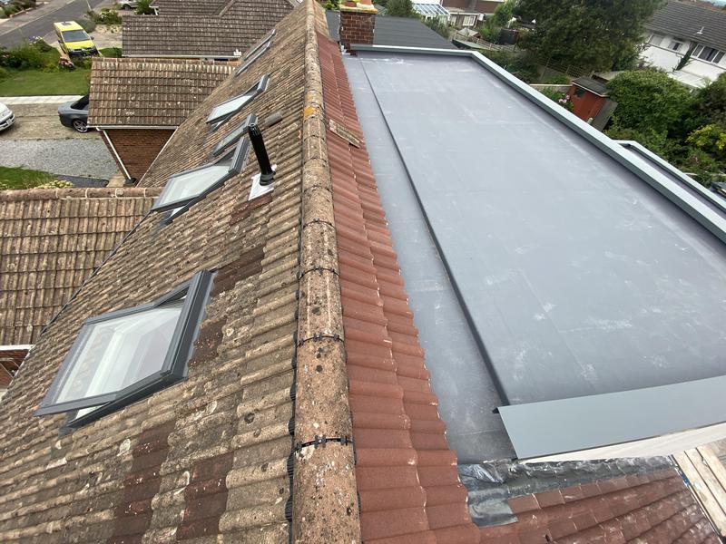 Image 88 - Loft conversion fibreglass power pit flat roof