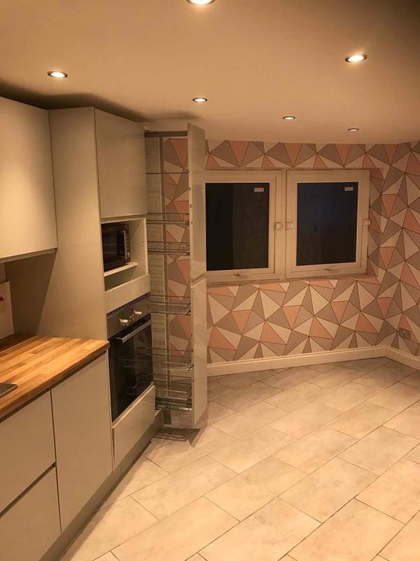 Image 18 - Kitchen floor tiling to complement our wall tiling. Tiling enquiries welcome