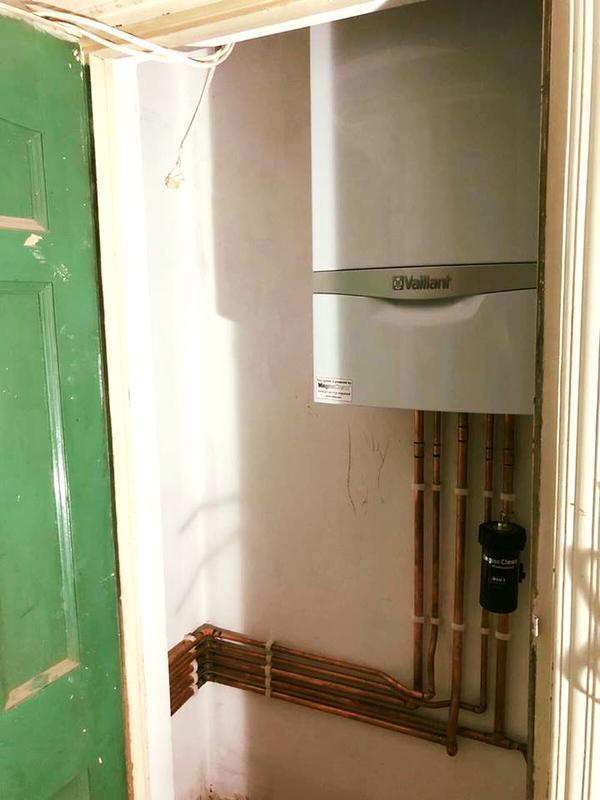 Image 23 - Boiler install