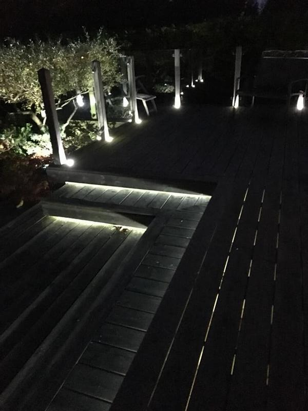 Image 40 - Garden lighting install with remote switching