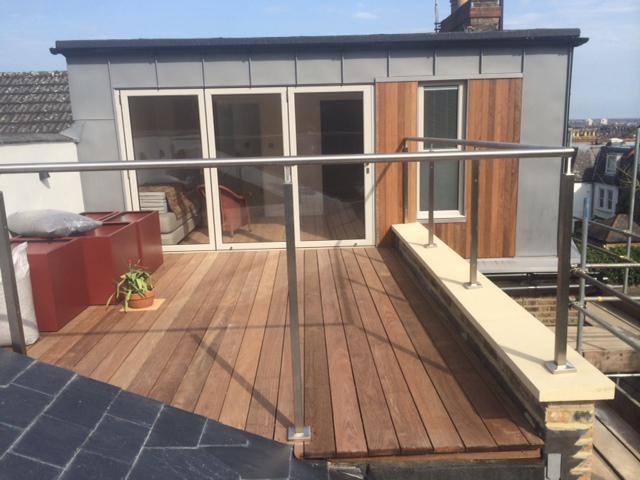 Image 11 - Loft conversion with sun deck in north London