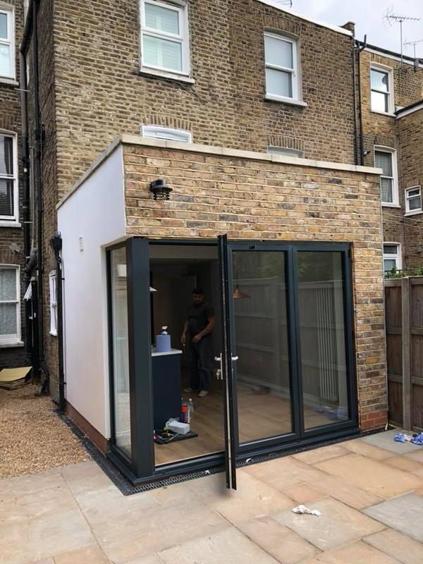 Image 25 - Rear extension, new kitchen, bathroom, Queen's Park