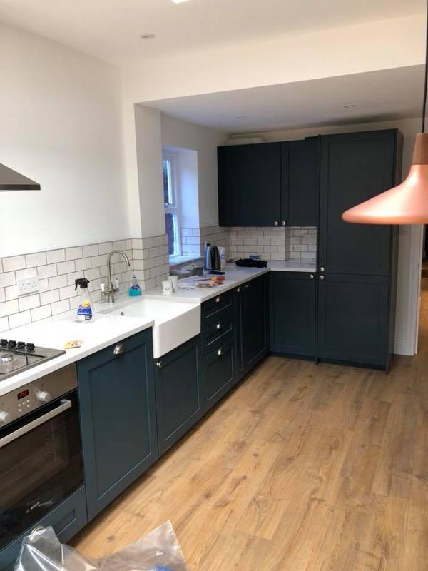 Image 24 - Rear extension, new kitchen, bathroom, Queen's Park