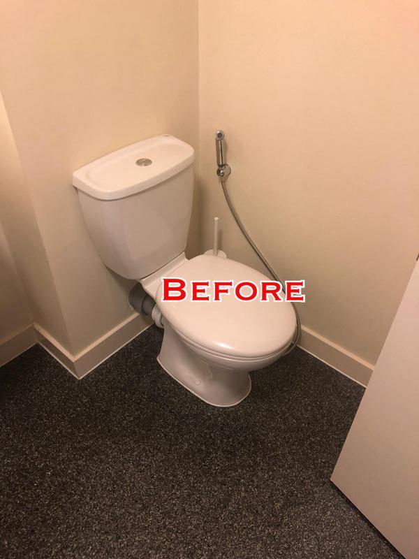 Image 12 - BEFORE. New Eltham. Bathroom renovation