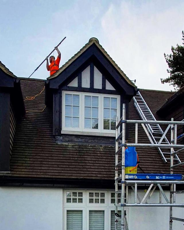 Image 5 - Roof cleaning - biocide application