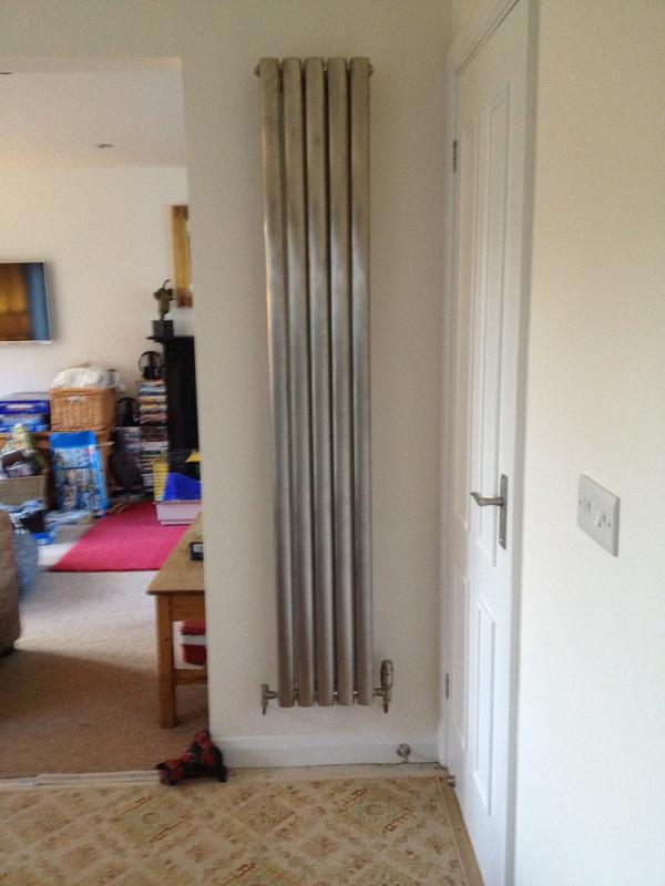Image 46 - Designer radiator install