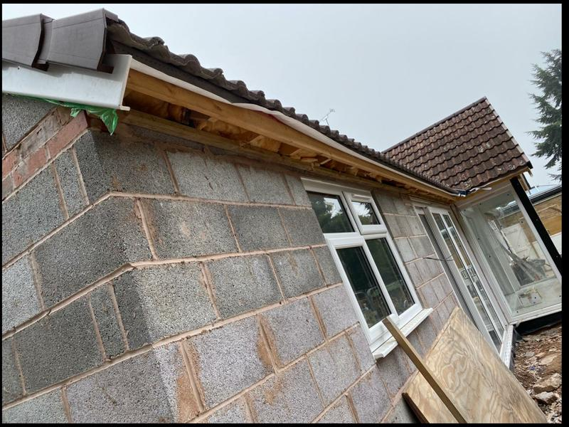 Image 29 - This is a extension on a bungalow currently being done up.