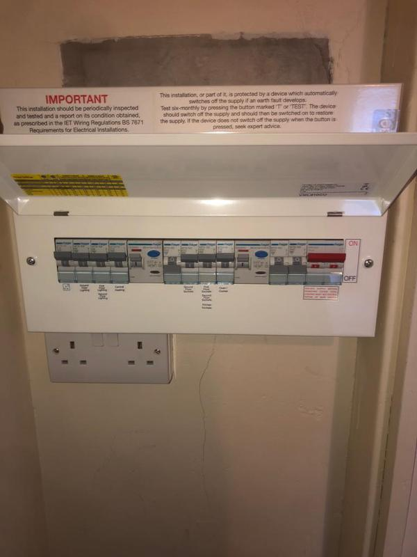 Image 6 - New consumer unit from EICR report