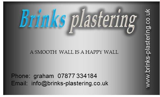 Brinks Plastering logo