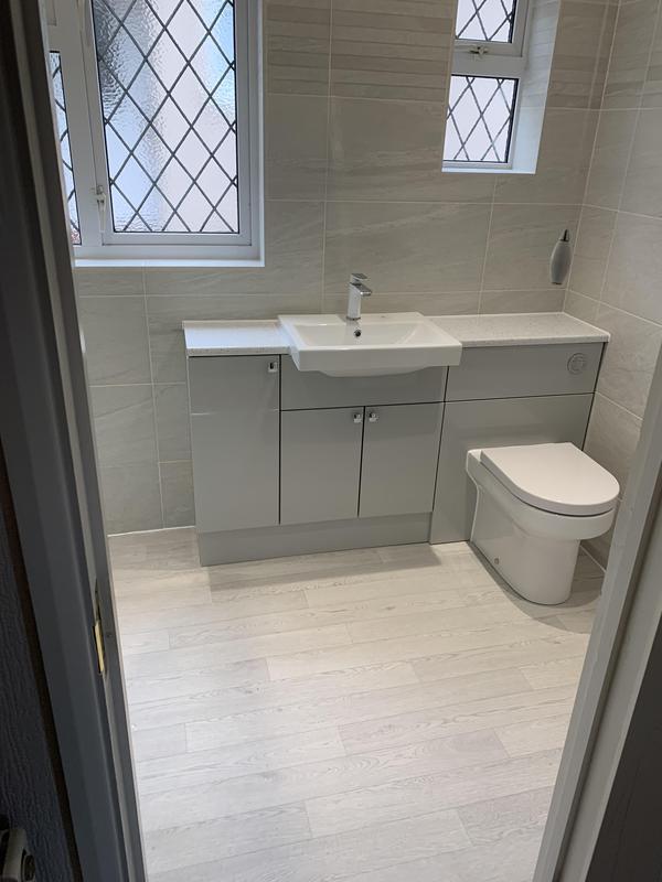 Image 46 - After. Dartford Bathroom fitting
