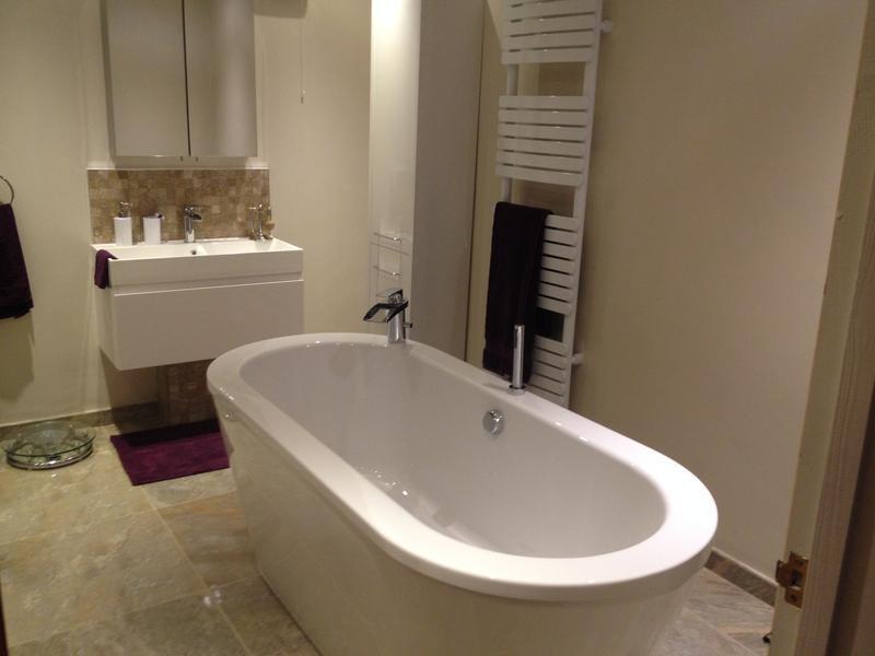 Image 36 - Full bathroom installation