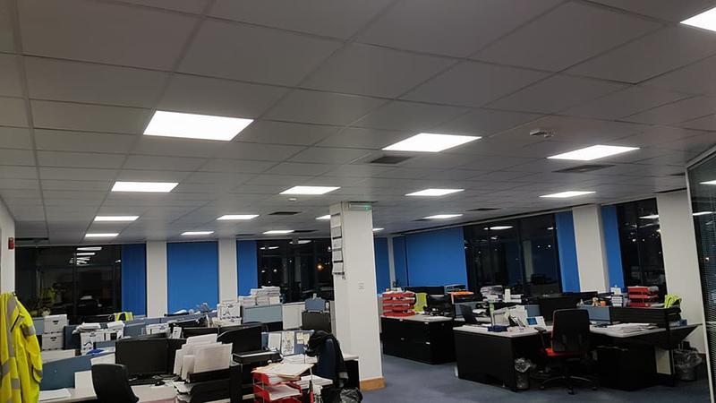 Image 37 - New office refurb in Tilbury docks