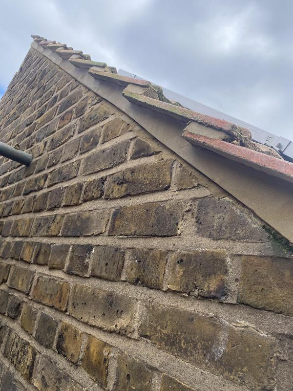 Image 22 - Gable end pointed back in possition