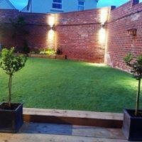 Image 26 - artificial grass and landscaping to flatten new build garden