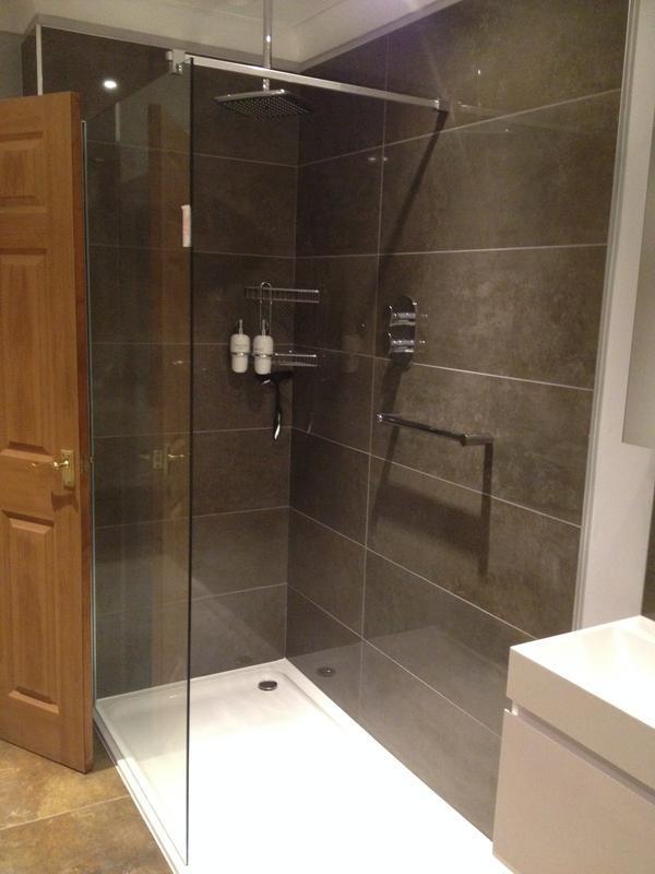 Image 41 - New shower installation