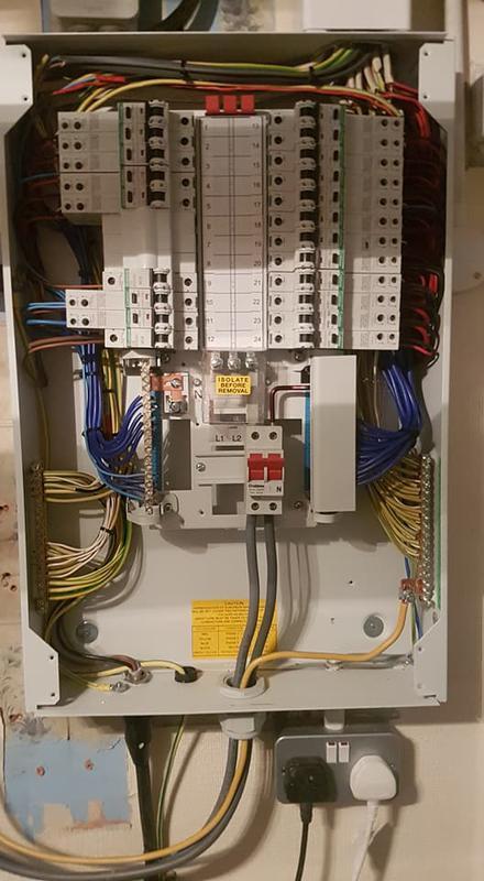 Image 36 - Replacement consumer unit.