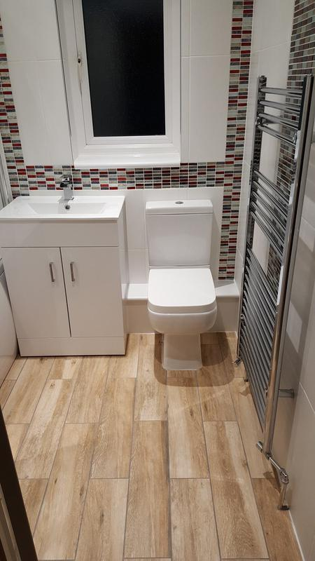 Image 74 - Complete bathroom refit - see our facebook page for before pictures!
