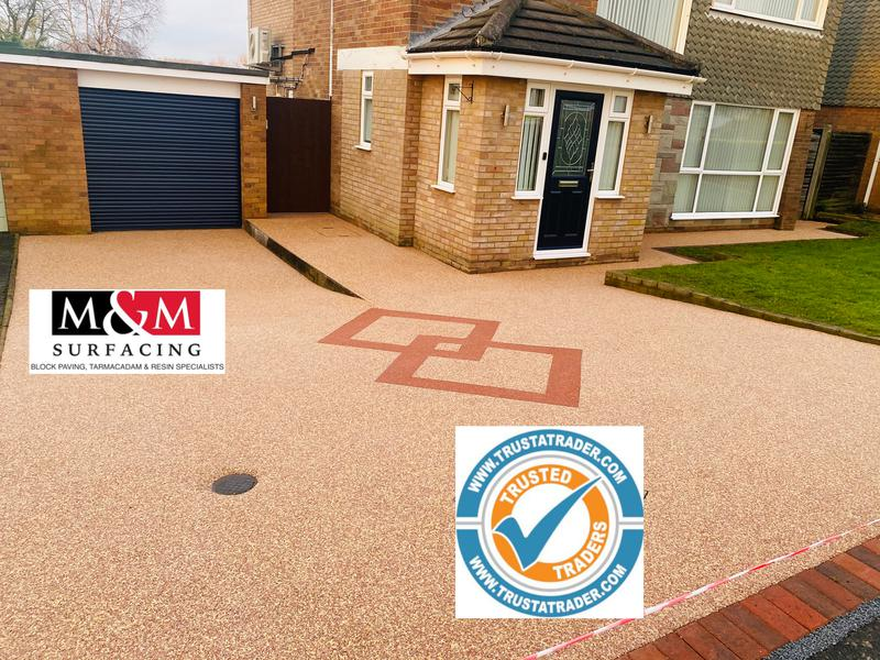 Image 65 - Resin bound driveway completed
