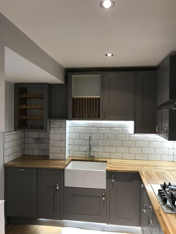 Image 28 - RELM Interiors renovated a living area as well as a kitchen in Schubert Road. Completely refitted plumbing and electrical appliances. New flooring, cupboards, fittings and surfaces were installed.
