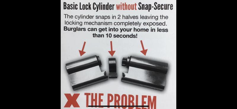Image 3 - Basic locks give burglars an easy entrance