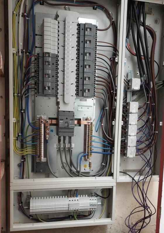 Image 6 - Upgraded distribution panel in a church