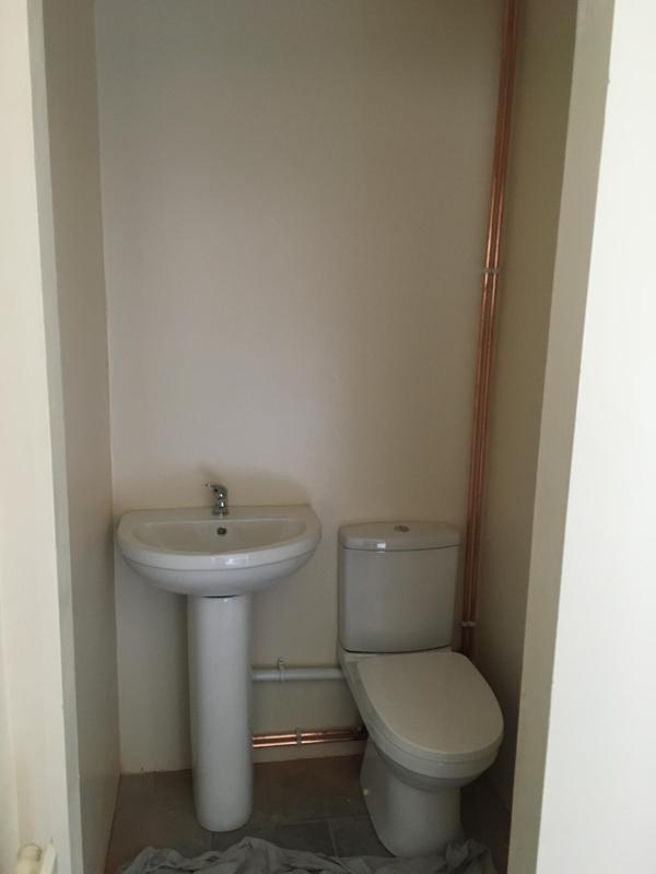 Image 33 - New ensuite installed in a spare space in the bedroom