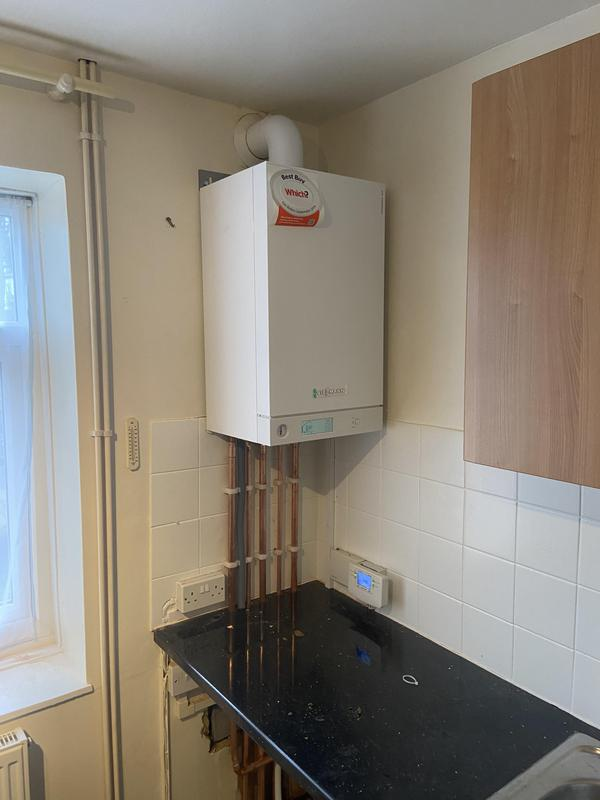 Image 18 - New Viessmann 100 w 35 kw Viessmann boiler installed in Putney