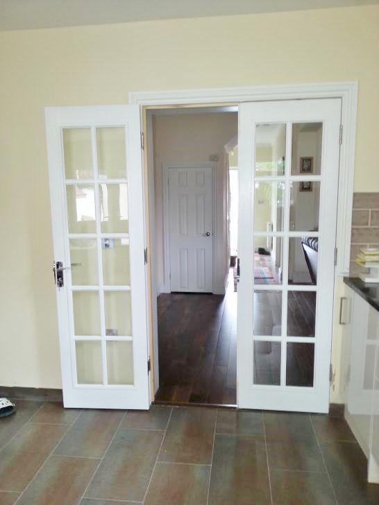 Image 6 - internal french doors, Ealing