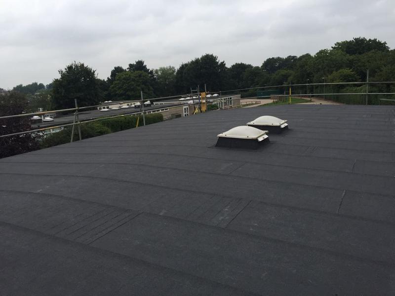 Image 51 - Torch On Felt Re-Roof & Replacement Ply Boards - Longmeadow School, Stevenage