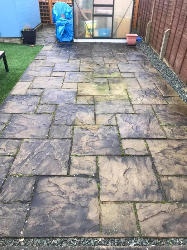 Image 19 - Patio. Before cleaning