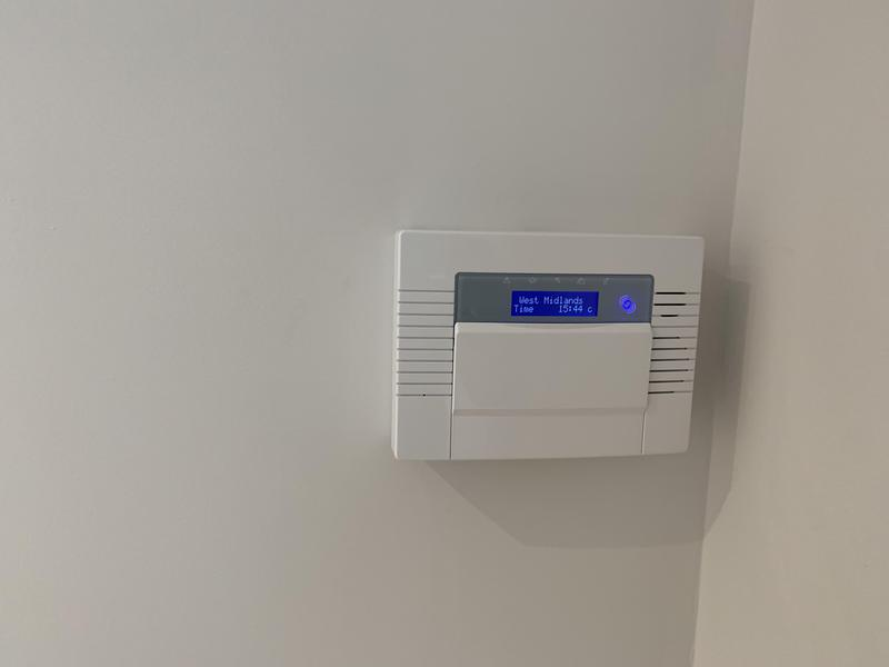 Image 6 - Wireless alarm system installed