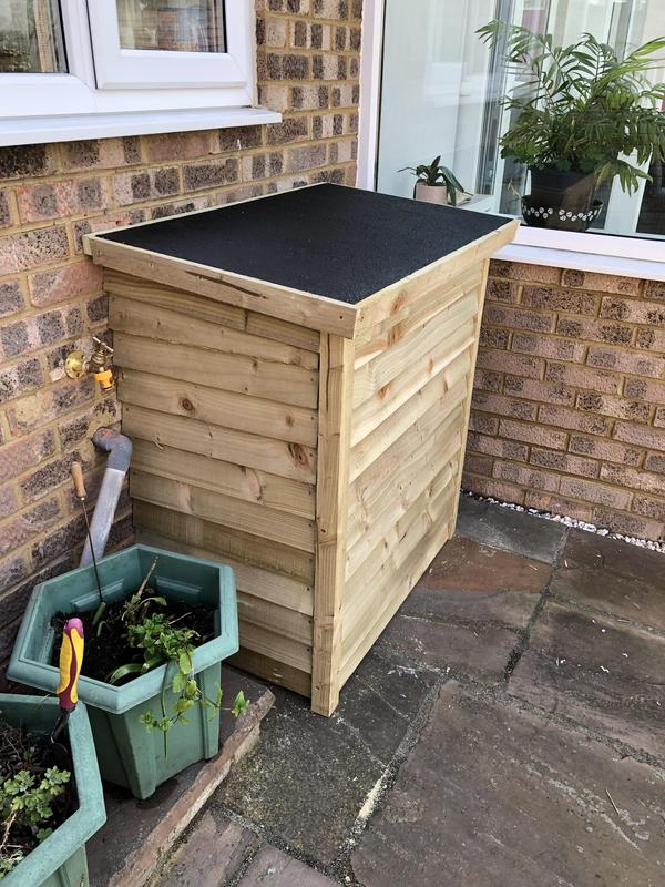 Image 12 - Fitted outside in an insulated bespoke cabinet