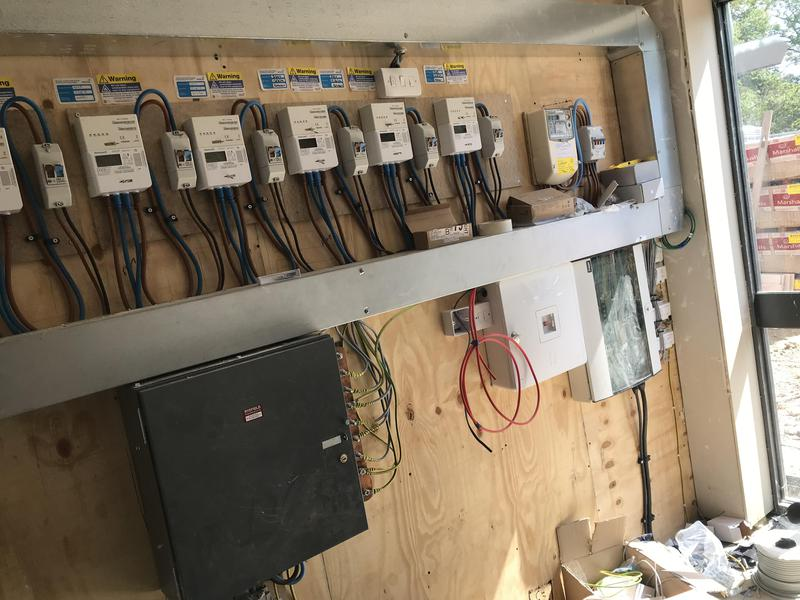 Image 2 - Communal electrics for 9 new build flats