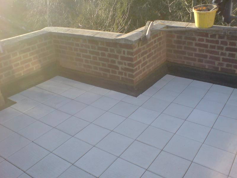 Image 12 - Roof Terrace finished with promenade tiles
