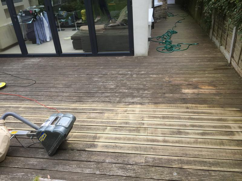 Image 195 - Decking repairs & treatment