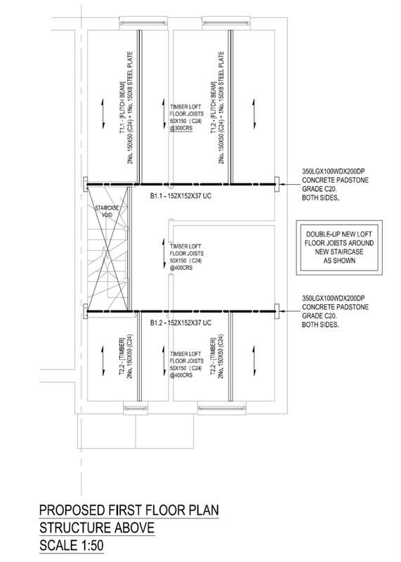 Image 1 - Loft Conversion. Floor Plan. Limewood Close.