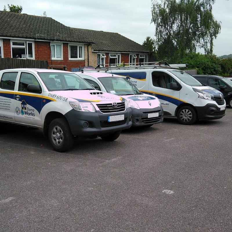 Image 8 - 3 vans on a rip out job