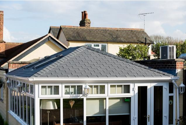 Image 3 - Tiled Georgian Style Conservatory Roof with Warmer Roof
